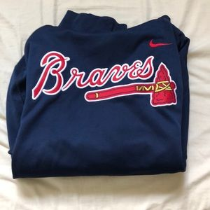 Nike Therma-Fit MLB Atlanta Braves Hoodie